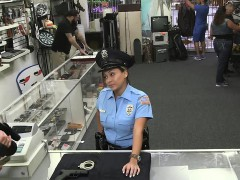 Miss Police officer sucks...